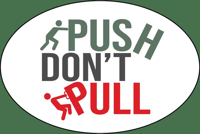 EnerCorp Push Dont Pull Logo